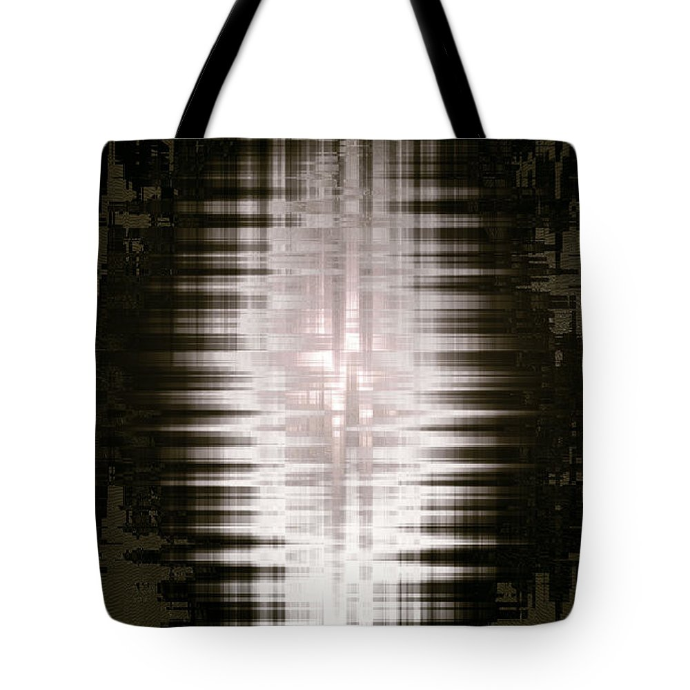 Moveonart! New York / San Francisco / Oklahoma / Portland / Missoula Jacob Kanduch Tote Bag featuring the digital art Moveonart Minimal Expressions 1 by Jacob Kanduch