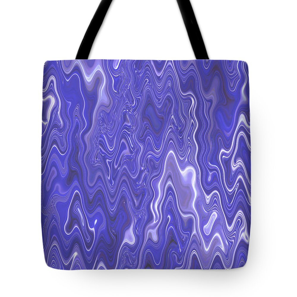Moveonart! Digital Gallery Tote Bag featuring the digital art MoveOnArt Peaceful Interactive Visual Therapy 2 by Jacob Kanduch