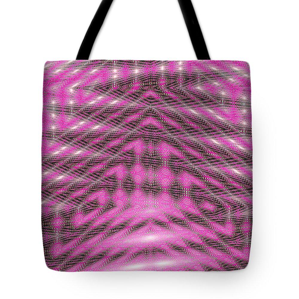 Moveonart! New York / San Francisco Jacob Kanduch Tote Bag featuring the digital art Moveonart Textured Dimensions 1 by Jacob Kanduch
