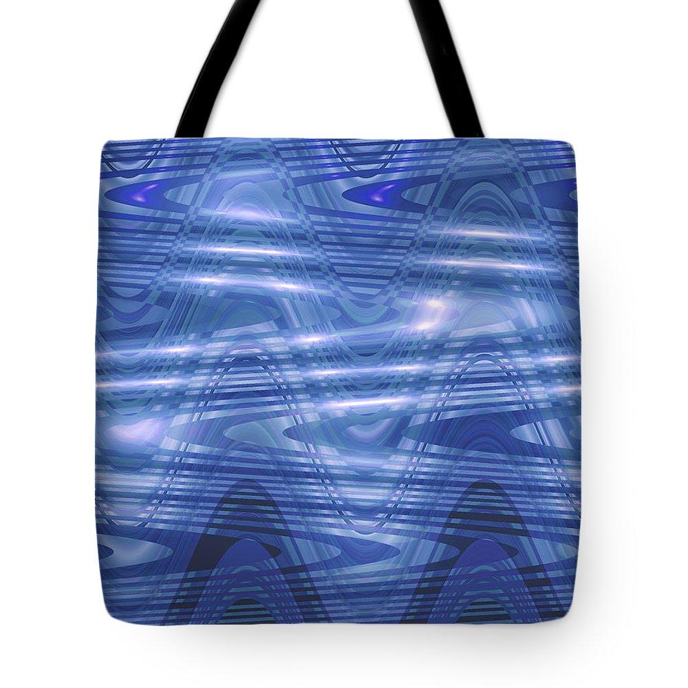 Moveonart! New York / San Francisco Jacob Kanduch Tote Bag featuring the digital art Moveonart The Cooling 2 by Jacob Kanduch