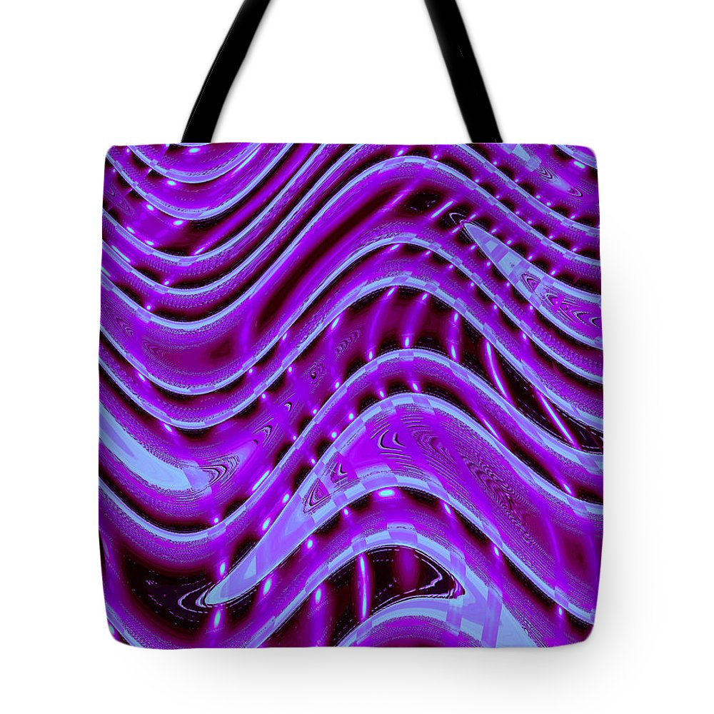 Moveonart Digital Gallery San Francisco California Lower Nob Hill Jacob Kane Kanduch Tote Bag featuring the painting Moveonart The New New Wave 1 by Jacob Kanduch