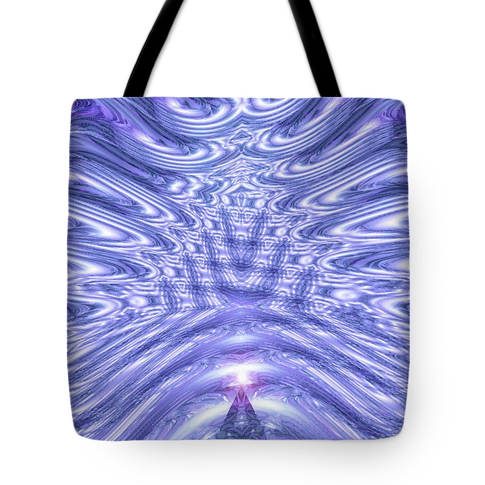 Moveonart! New York / San Francisco Digital Gallery Lower Nob Hill Jacob Kanduch Tote Bag featuring the digital art Moveonart United Cosmic Thought 1 by Jacob Kanduch