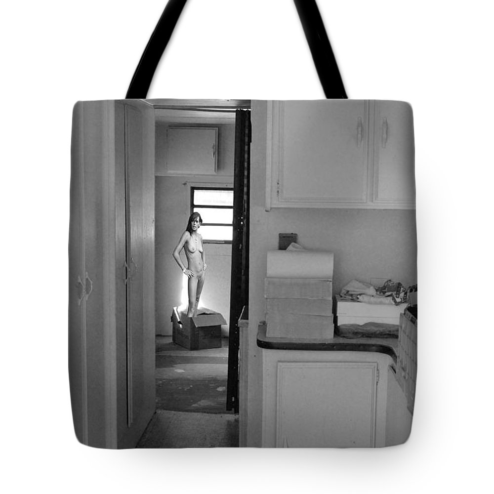 Florida Tote Bag featuring the digital art Moving In by Roger Leege