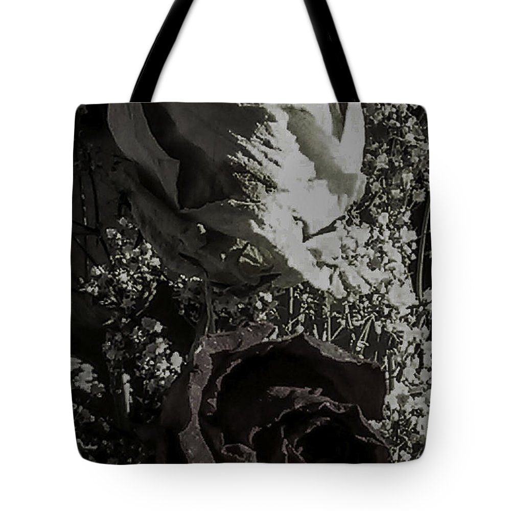 Color Photgraphy Tote Bag featuring the photograph Moving On Remnants Of A Failed Love by Paul Shefferly