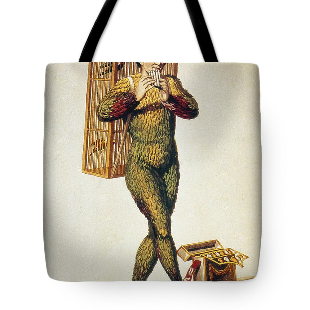 1791 Tote Bag featuring the photograph Mozart: Magic Flute, 1791 by Granger