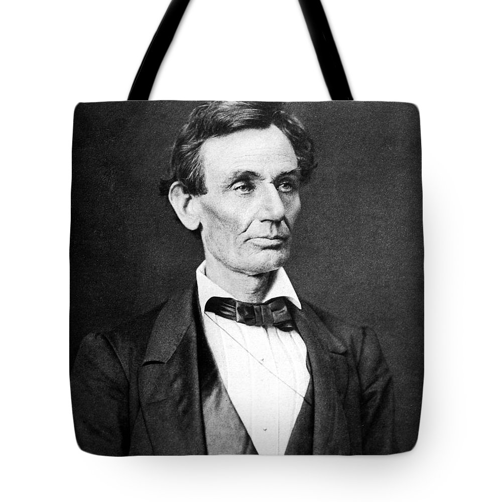 Lincoln Photographs Tote Bags
