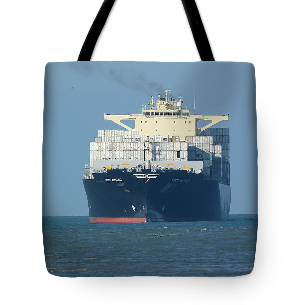 Container Tote Bags