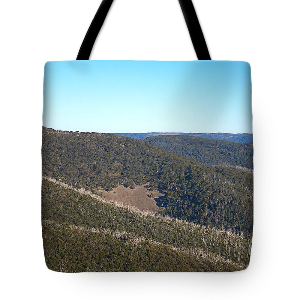 Mt Hotham Tote Bag featuring the photograph Mt Hotham In Early April by Joy Watson