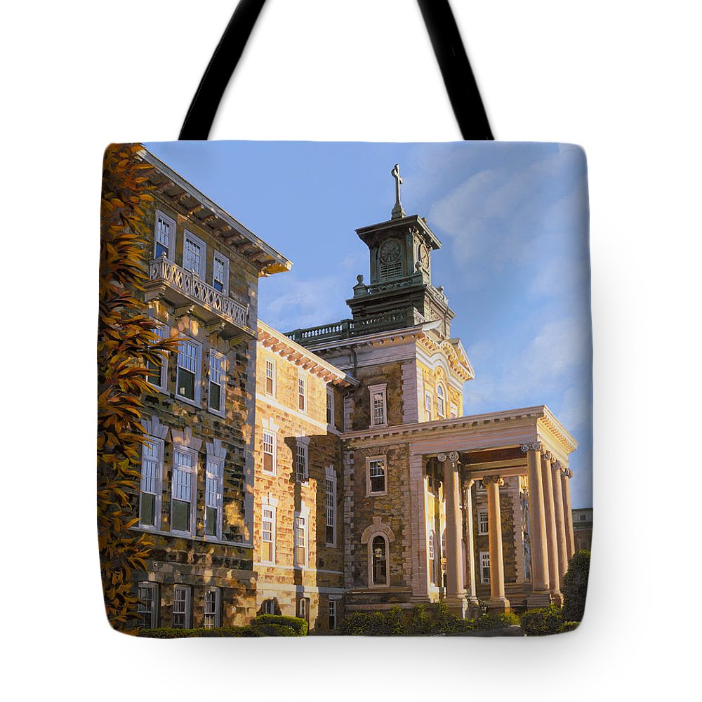New Jersey Paintings Tote Bags