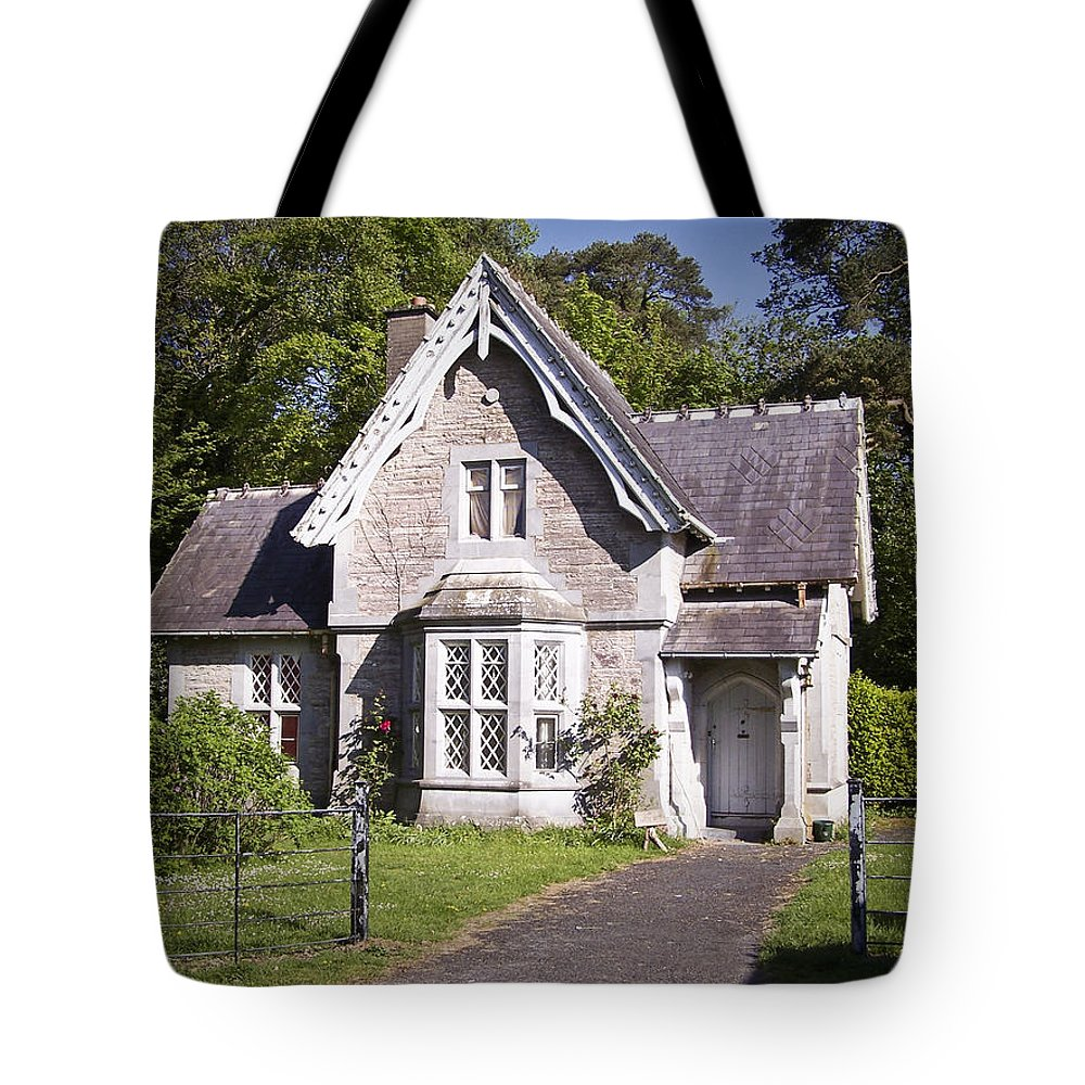 Irish Tote Bag featuring the photograph Muckross Cottage Killarney Ireland by Teresa Mucha