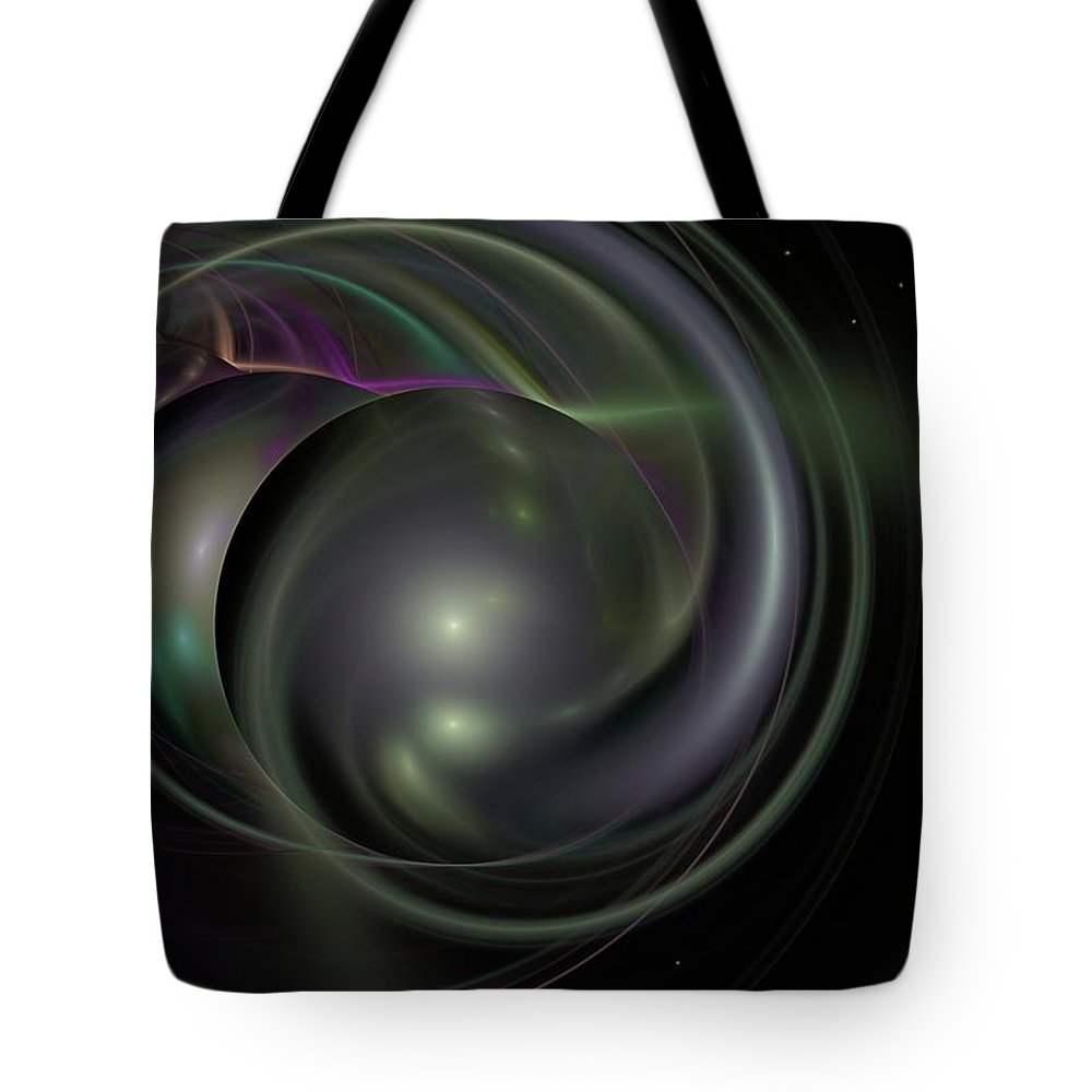 Fantasy Tote Bag featuring the digital art Multiverse by David Lane