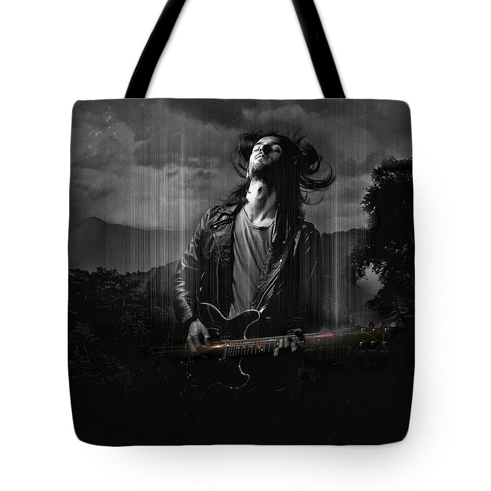 Music Tote Bag featuring the photograph Music In My Soul by Rosemary Smith