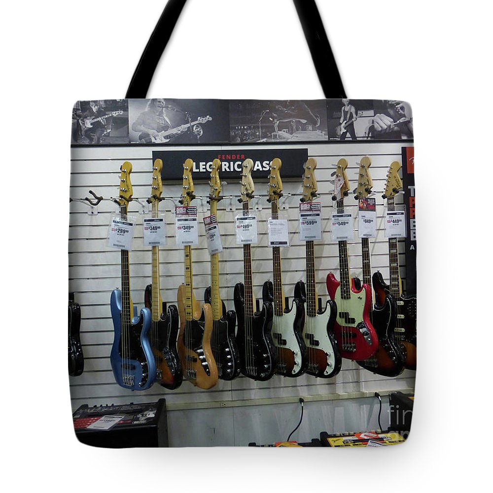 Fender Tote Bag featuring the photograph Musicians' Dream 4 by To-Tam Gerwe
