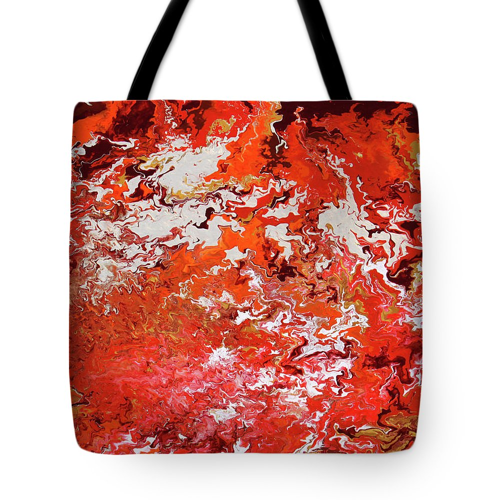 Fusionart Tote Bag featuring the painting Mustang by Ralph White