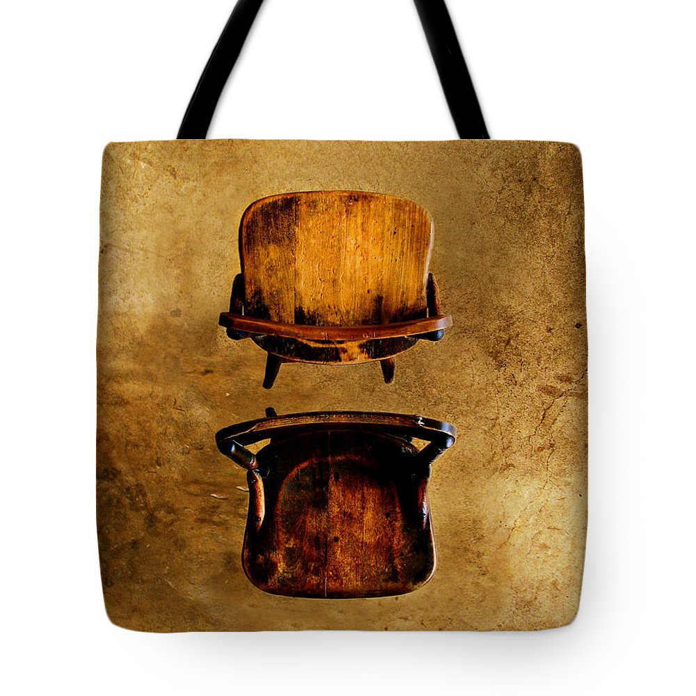 Concrete Tote Bag featuring the photograph My Arms Were Around You And I Hoped That You Wouldnt Hurt Me by Dana DiPasquale