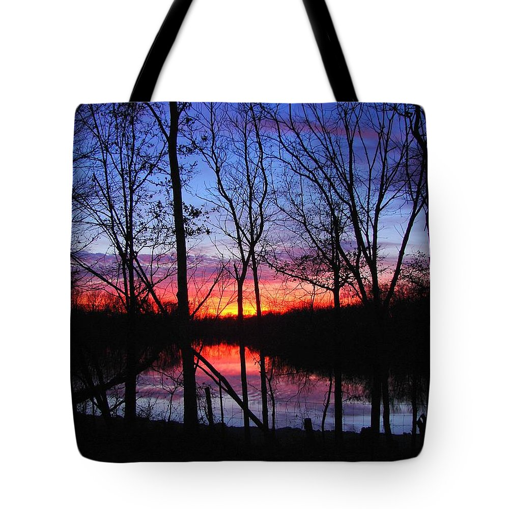 Lake Tote Bag featuring the photograph My Backyard by J R Seymour