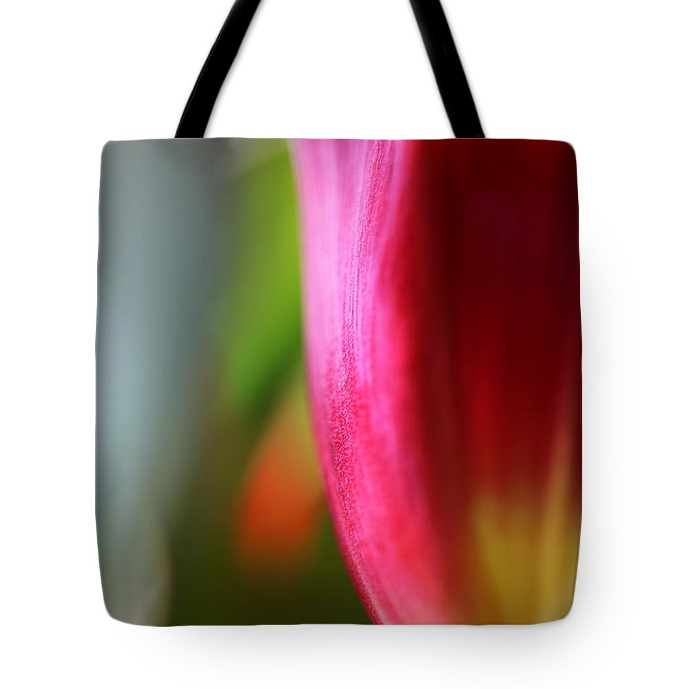 Tulip Tote Bag featuring the photograph My Cup Overflows by Amanda Barcon