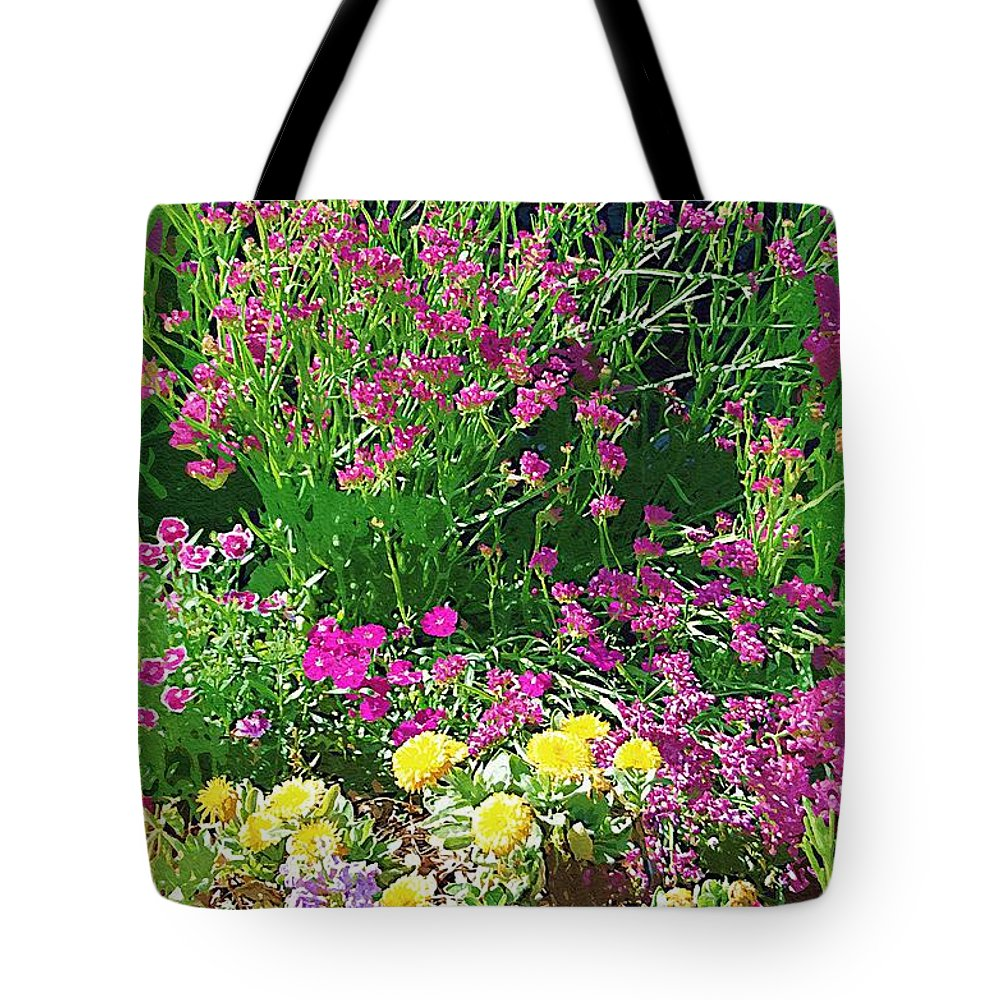 Gardens Tote Bag featuring the photograph My Garden  by Donna Bentley