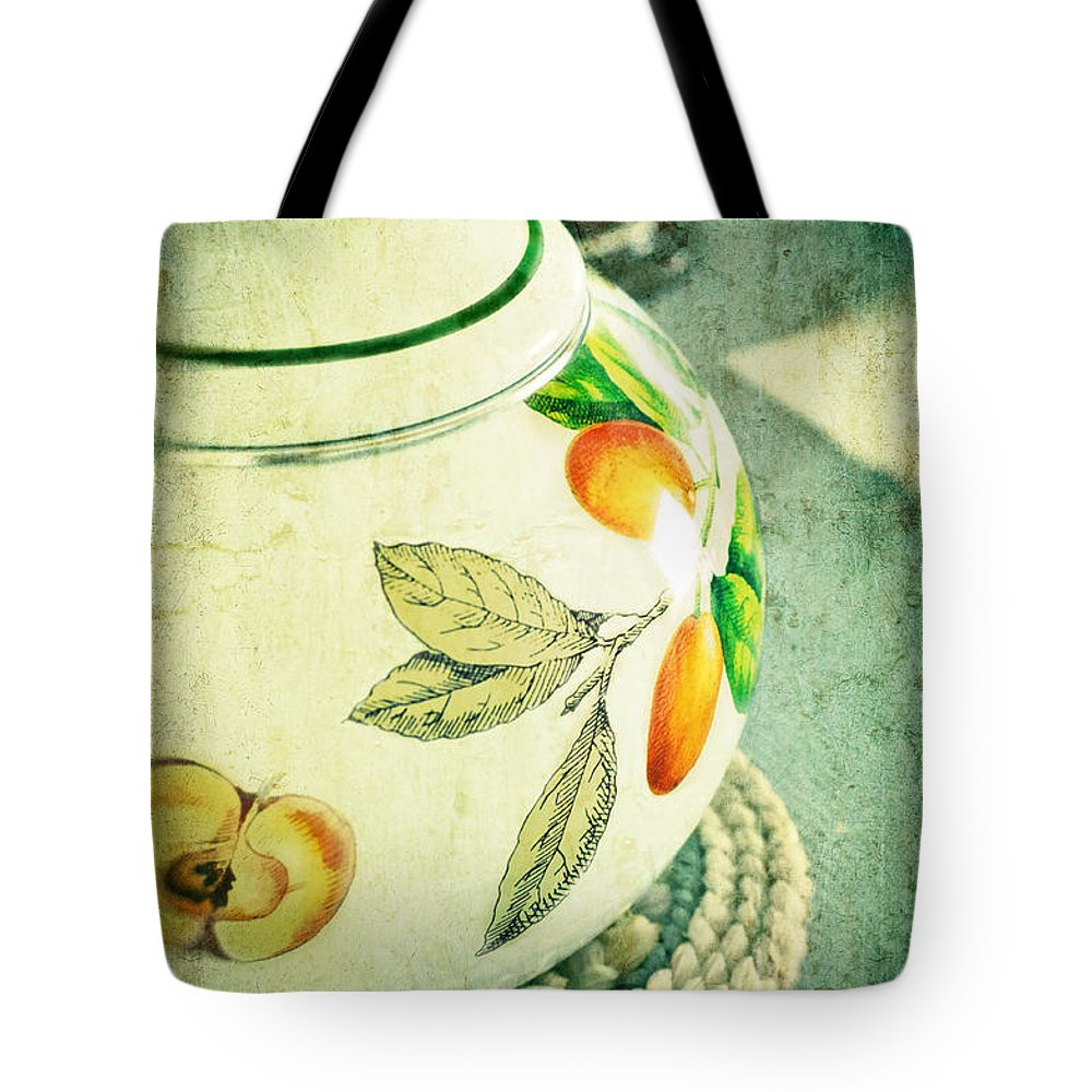 Kettle Tote Bag featuring the photograph My Kettle by Silvia Ganora