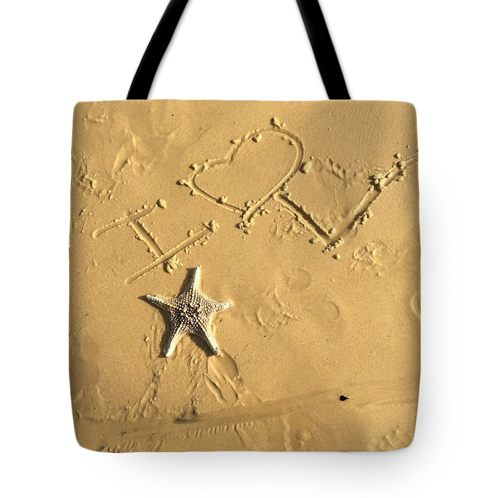 My Love.  Tote Bag featuring the photograph My Love. by Veronica Castaneda