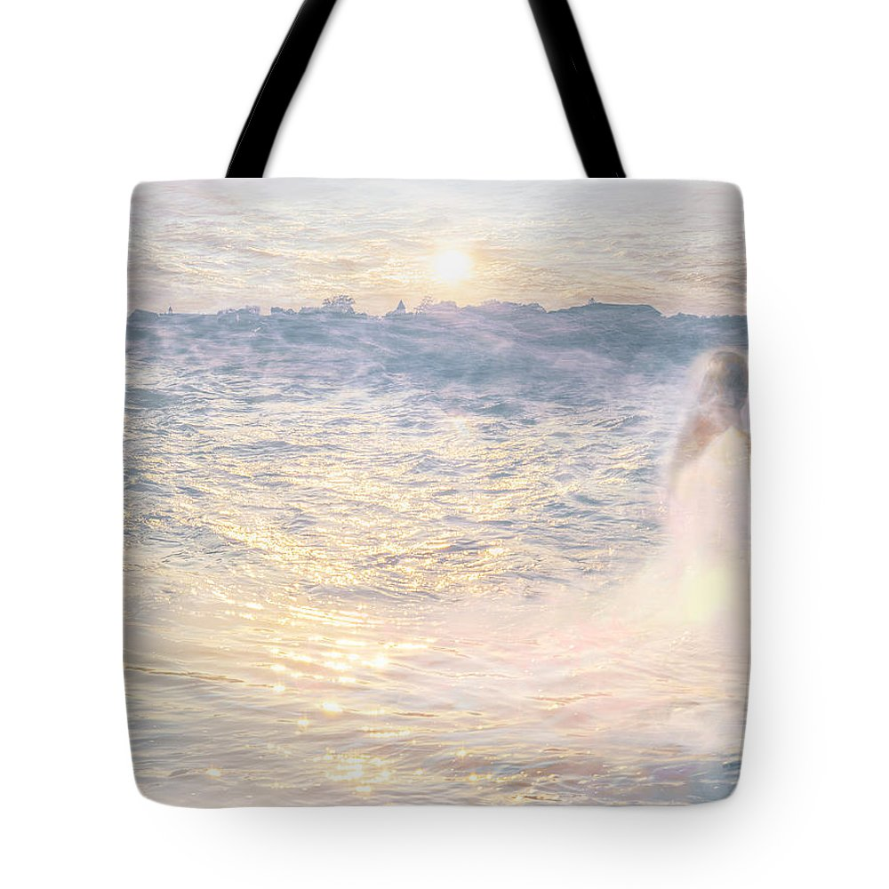 Artwork Tote Bag featuring the digital art My Lovely Muse by Will Jacoby Artwork