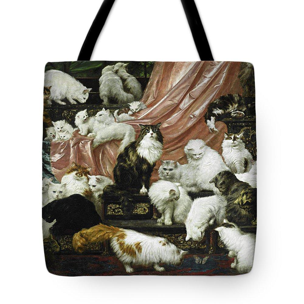 Carl Tote Bags