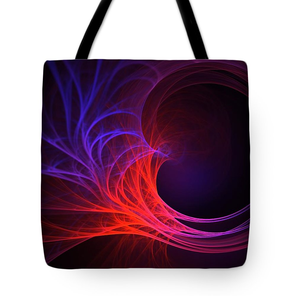 Fractal Tote Bag featuring the digital art My Wish For You by Lyle Hatch