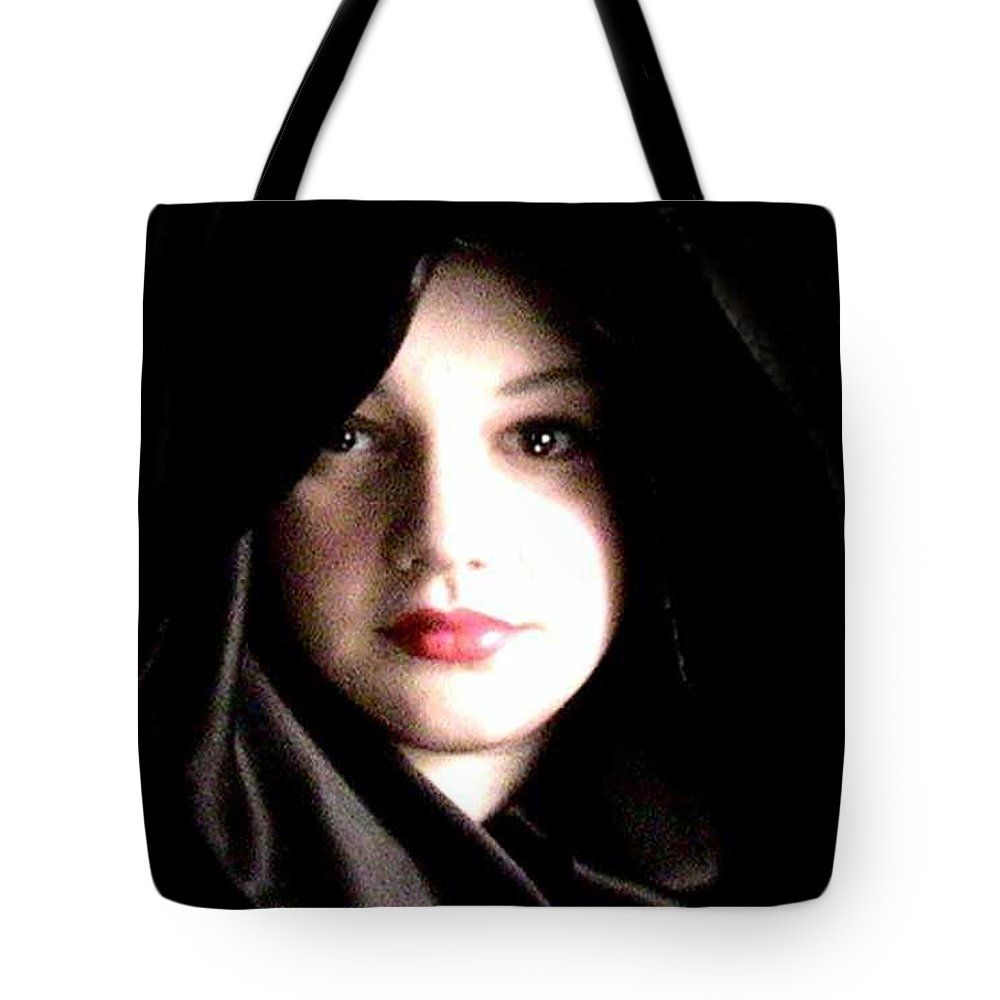 Self Photo Tote Bag featuring the photograph Myself by Scarlett Royal