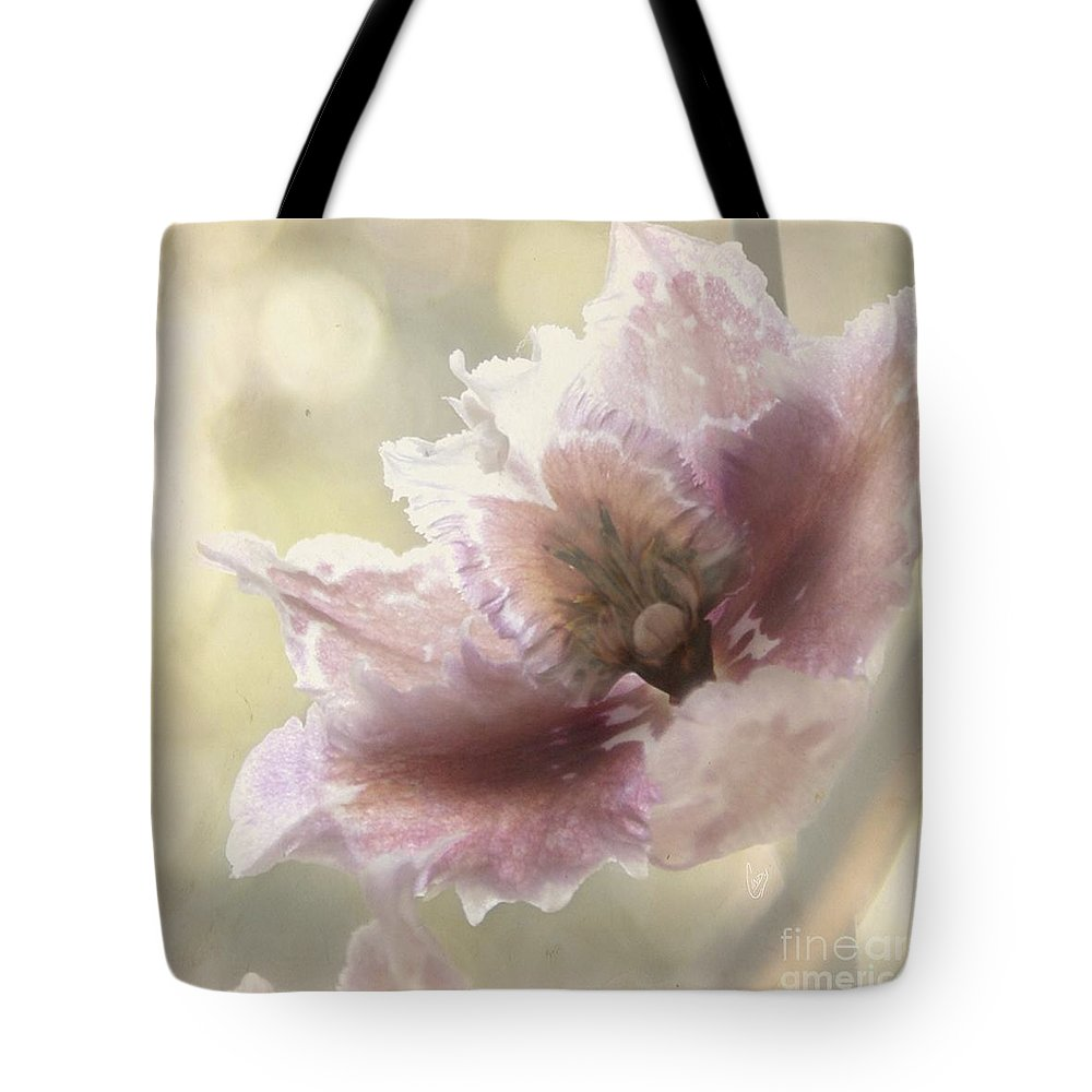 Flower Tote Bag featuring the photograph Mystere by Cindy Garber Iverson