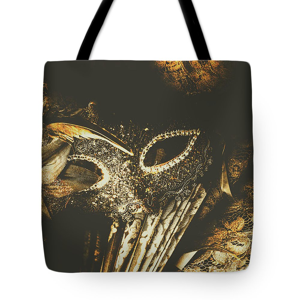 Fantasy Tote Bag featuring the photograph Mysterious Disguise by Jorgo Photography - Wall Art Gallery