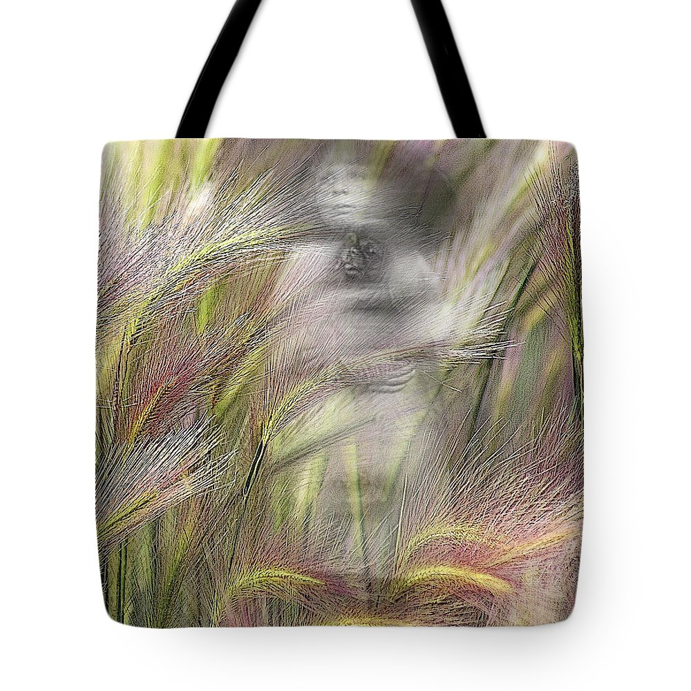 Tote Bag featuring the photograph Mysterious Lady by Marty Koch
