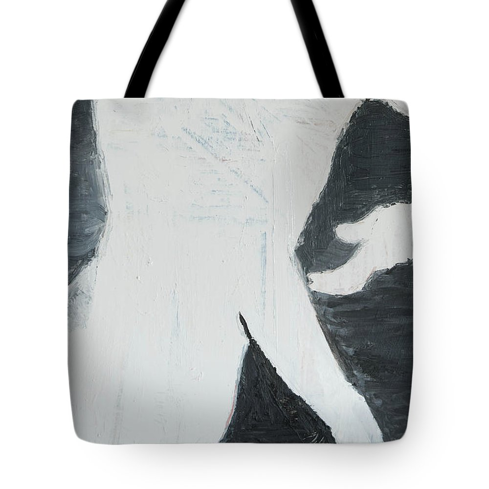 Man Tote Bag featuring the painting Mystery Man by Craig Newland