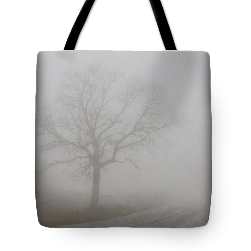 Landscape Tote Bag featuring the photograph Mystery Road 2 by Steve L'Italien
