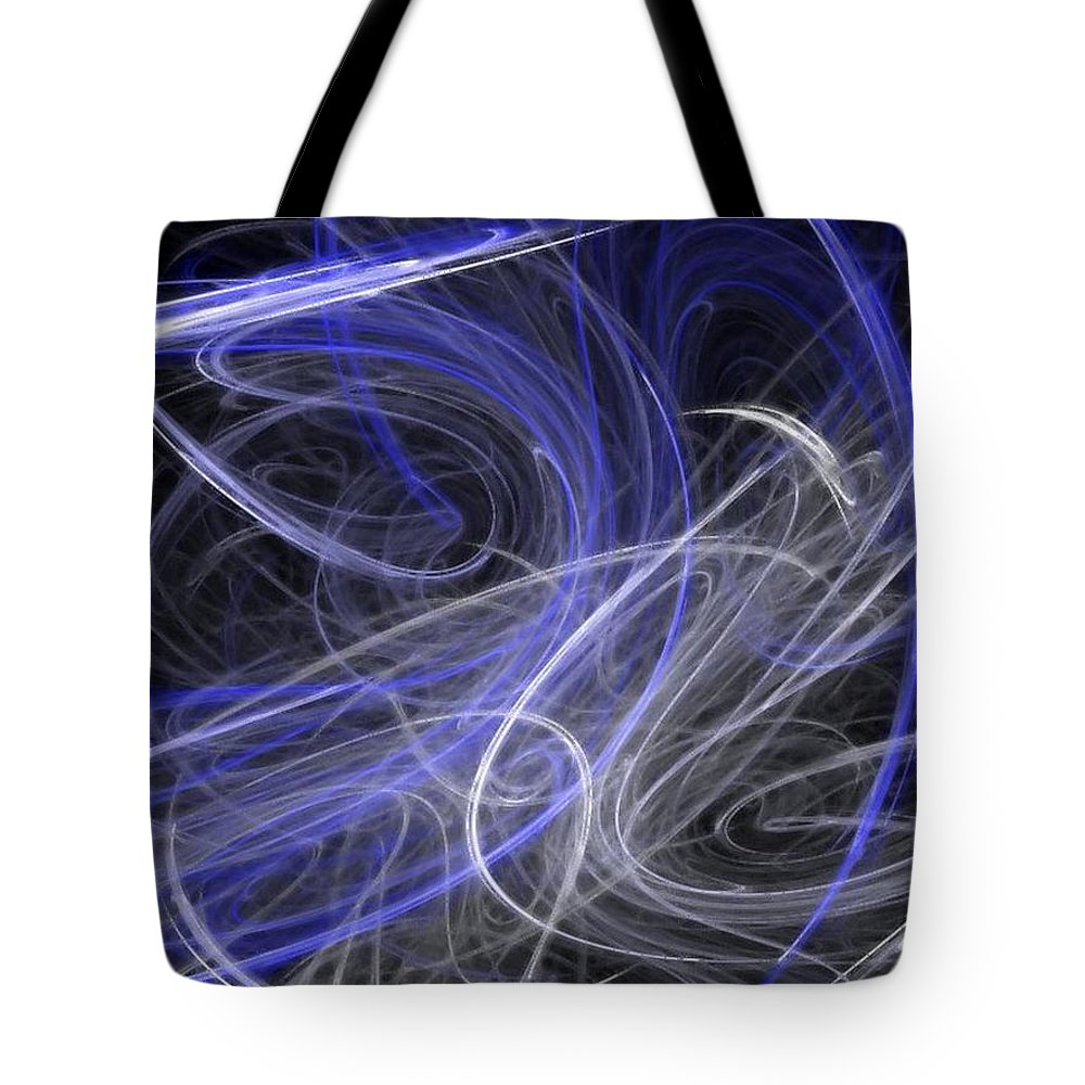 Mystic Tote Bag featuring the digital art Mystic Dance by Rhonda Barrett