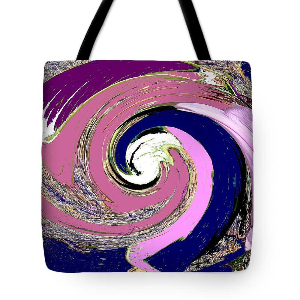 Abstract Tote Bag featuring the photograph Mystic by Ian MacDonald