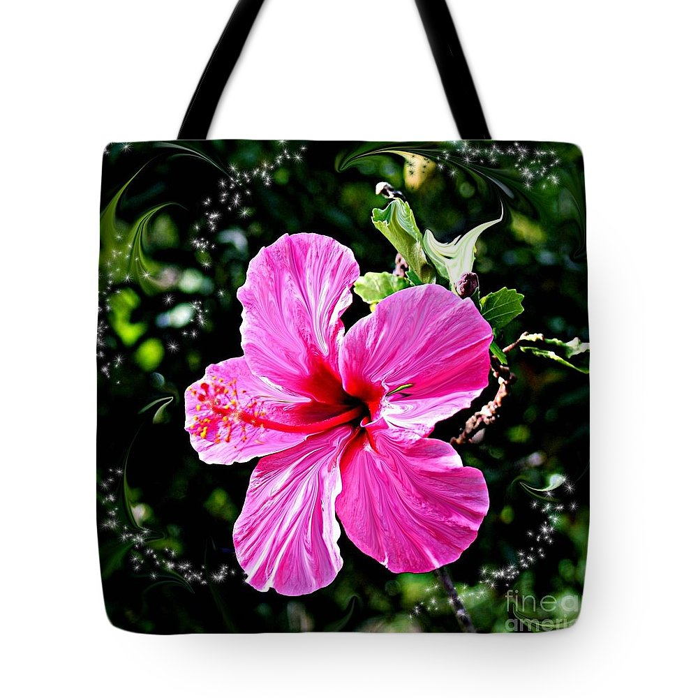 Flowers Tote Bag featuring the photograph Mystical Bloom by The Art of Alice Terrill