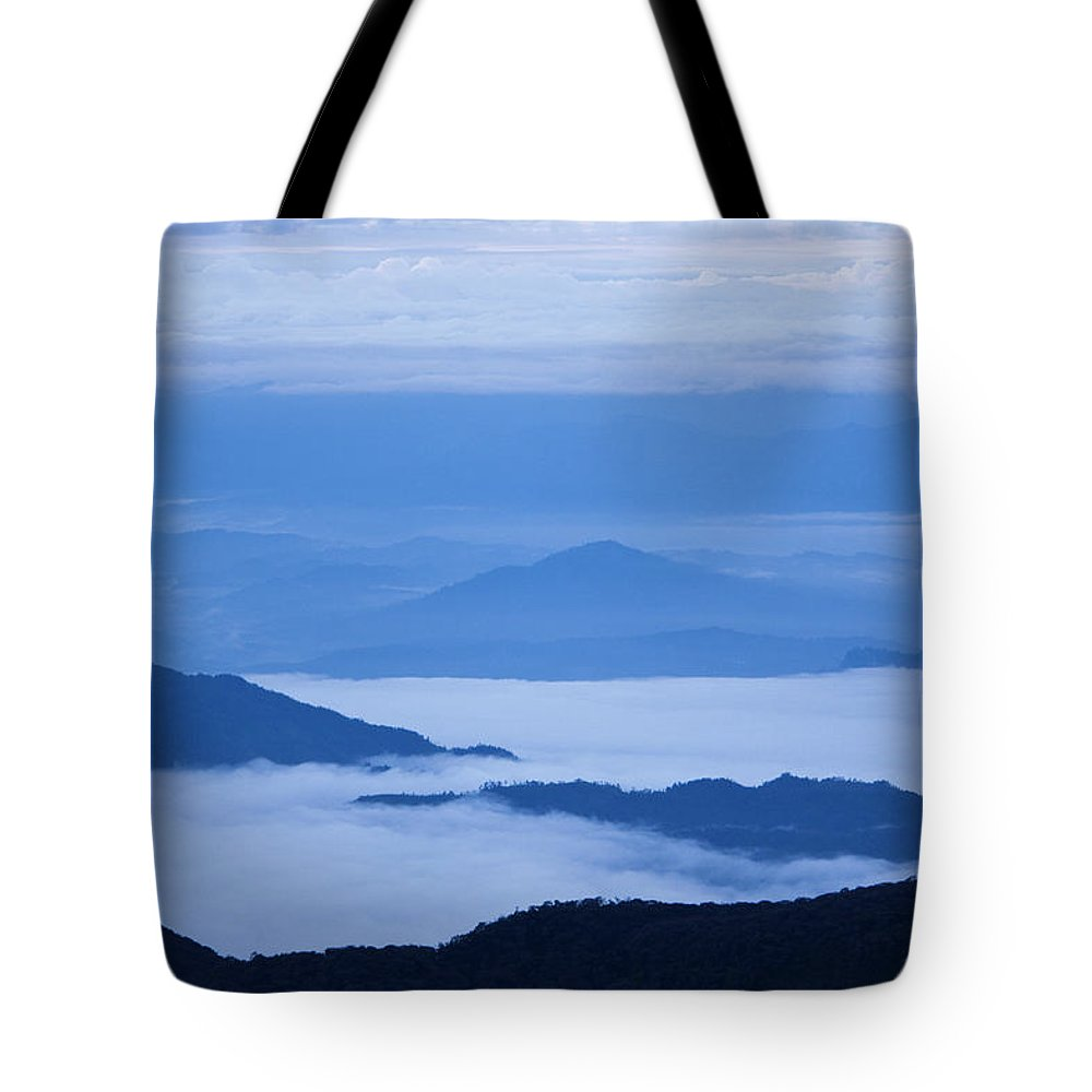 View Tote Bag featuring the photograph Mystique by Andrew Paranavitana