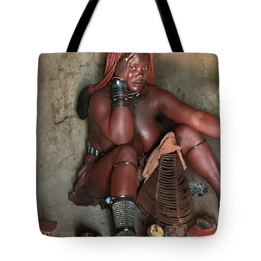 Namibia Tote Bag featuring the photograph Namibia Tribe 1 by Robert SORENSEN