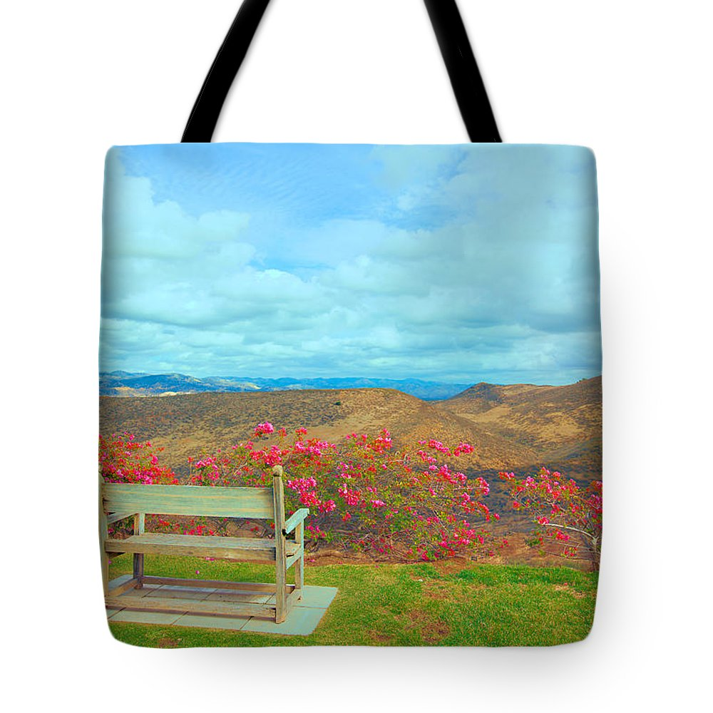 Ronald Tote Bag featuring the photograph Nancy And Ronnie For Ever by Ram Vasudev