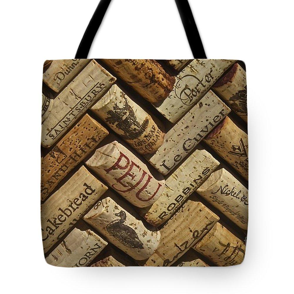 Napa Wine Coks Tote Bag