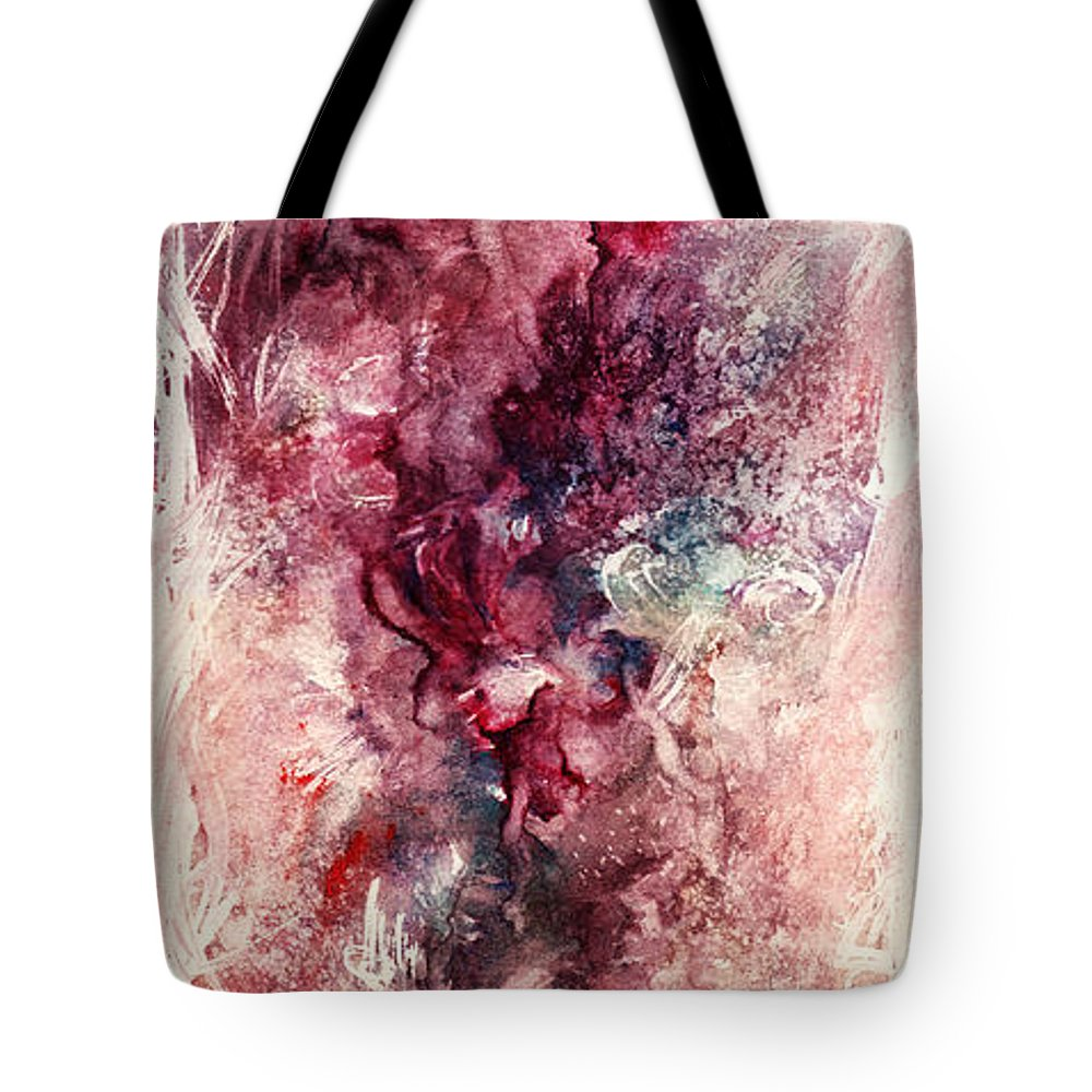 Floral Tote Bag featuring the painting Narcissus by Rachel Christine Nowicki