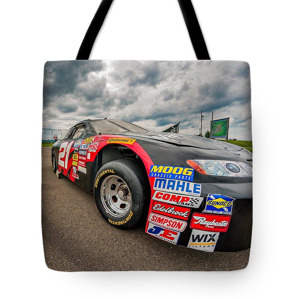 Nascar Toyota Race Car Tote Bag for Sale by Steve Harrington