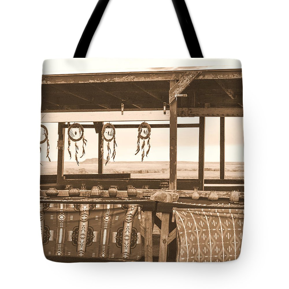 Indian Tote Bag featuring the photograph Native American by Mauverneen Blevins