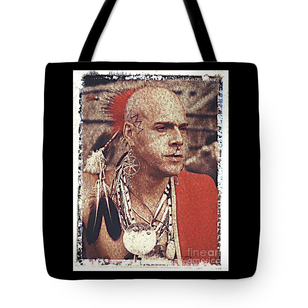 Native American Tote Bag featuring the photograph Native Of New York State by Keith Dillon