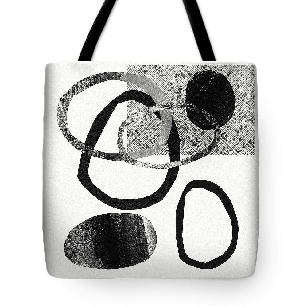 Abstract Tote Bag featuring the mixed media Natural Balance 2- Abstract Art By Linda Woods by Linda Woods