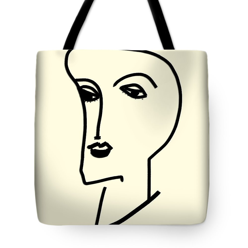 Apple Pencil Drawing Tote Bag featuring the drawing Natural by Bill Owen