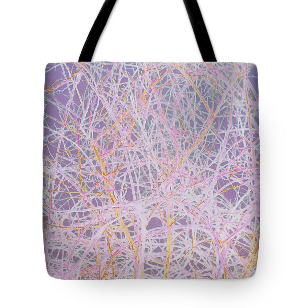 Absstract Tote Bag featuring the mixed media Natural Drip Art 3 by Steven Natanson