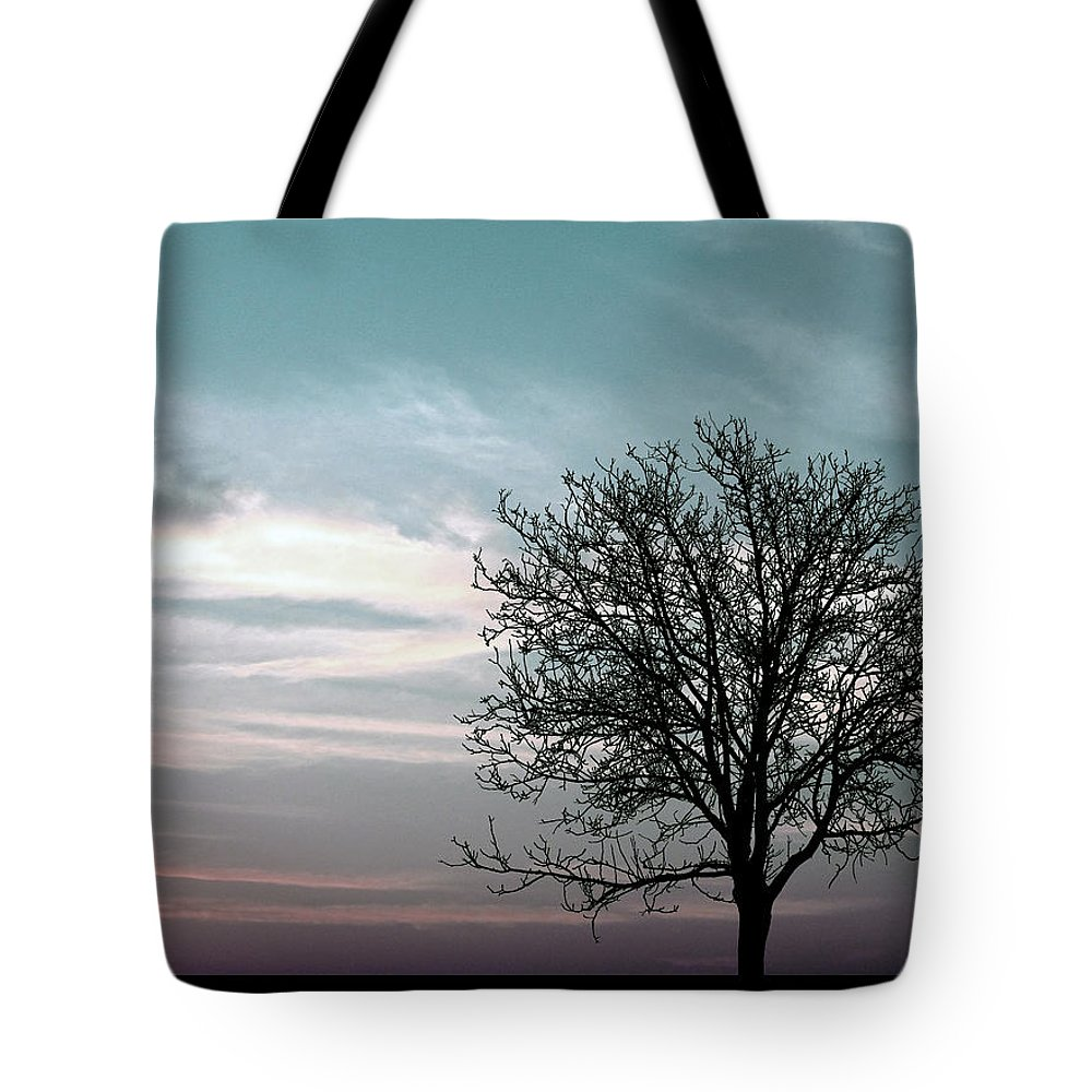 Nature Tote Bag featuring the photograph Nature - Early Sunrise by Munir Alawi