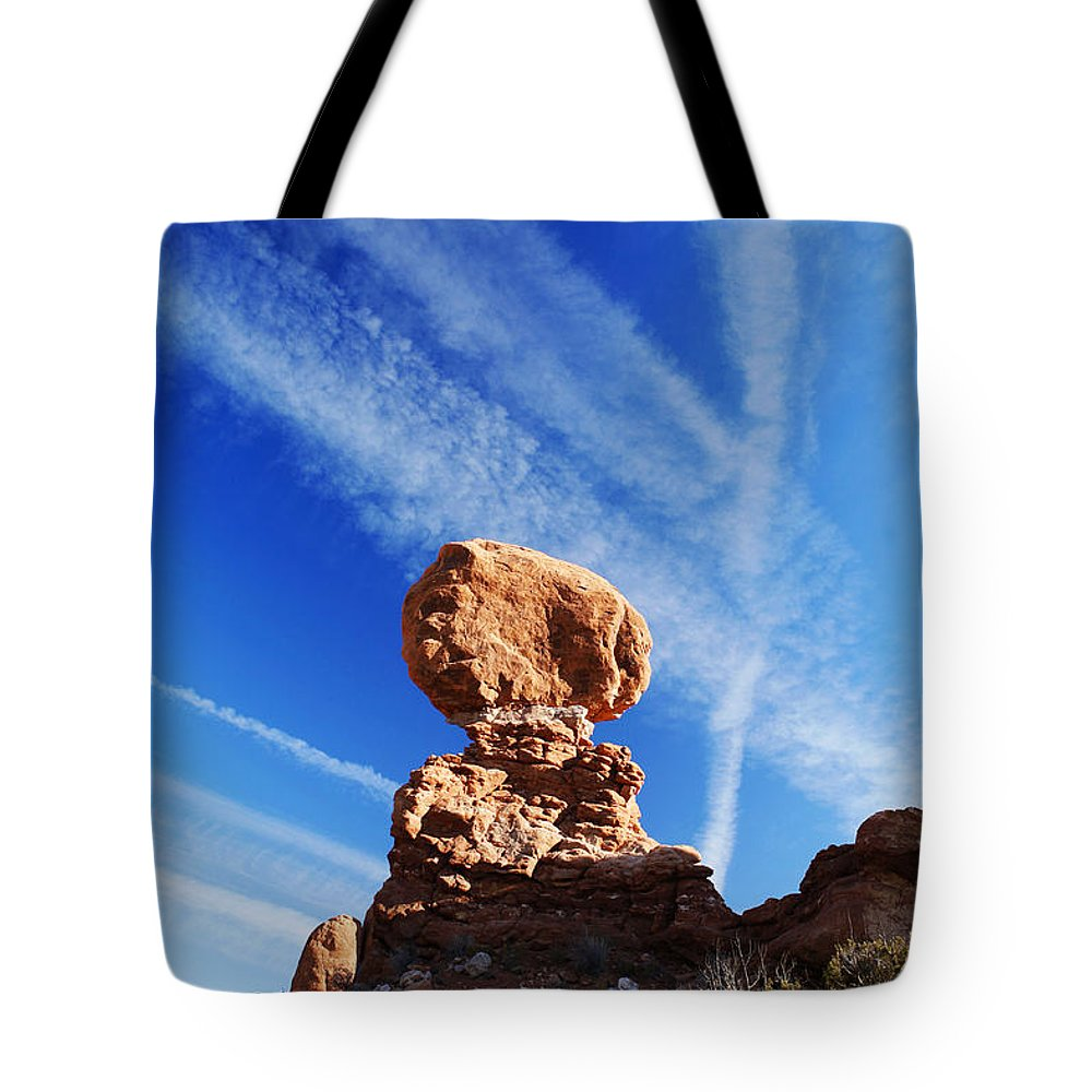 Nature Tote Bag featuring the photograph Nature And Man by Marilyn Hunt