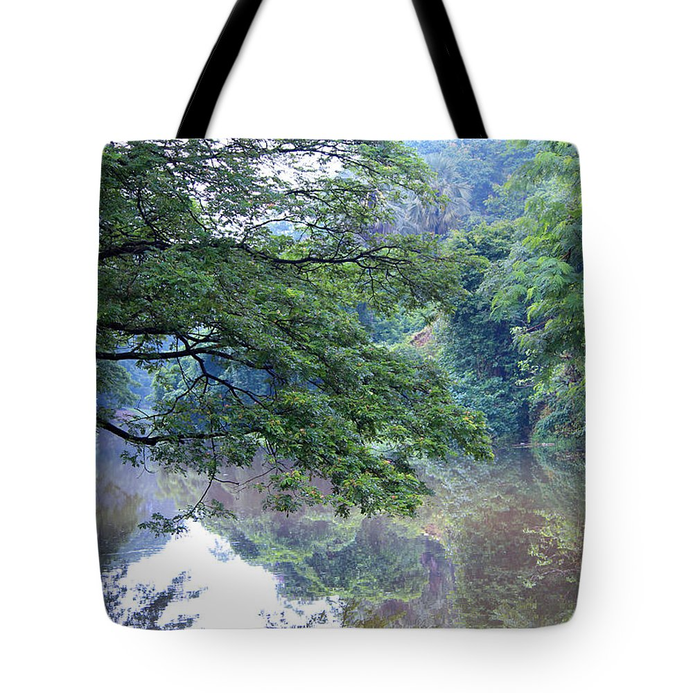 Tote Bag featuring the photograph Nature by Arnab Mukherjee